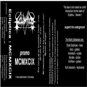 Ecliptica - MCMXCIX cover art