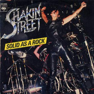 Shakin' Street - Solid As a Rock cover art
