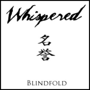 Whispered - Blindfold cover art