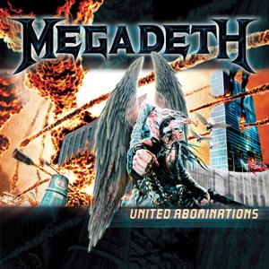 Megadeth - United Abominations cover art