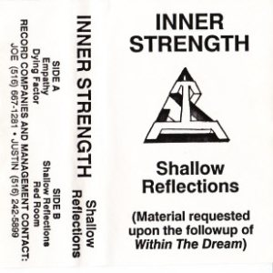 Inner Strength - Shallow Reflections(Material requested upon the followup of Within the Dream) cover art