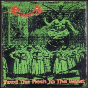 Grausig - Feed the Flesh to the Beast cover art