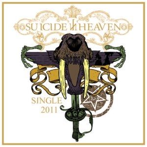 Suicide in Heaven - Single 2011 cover art
