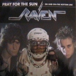 Raven - Pray for the Sun cover art