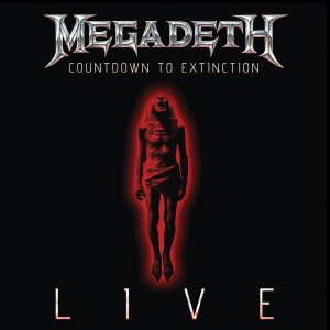 Megadeth - Countdown to Extinction: Live cover art
