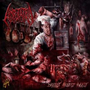 Amputated - Dissect, Molest, Ingest cover art