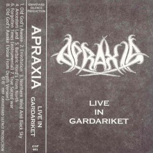 Apraxia - Live in Gardariket cover art