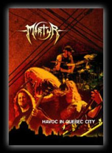 Martyr - Havoc in Quebec City cover art