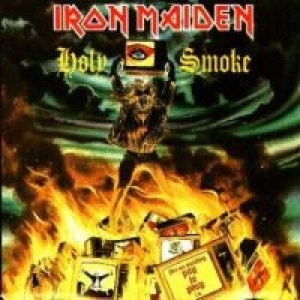 Iron Maiden - Holy Smoke cover art