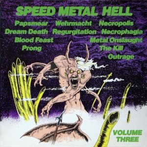 Various Artists - Speed Metal Hell: Volume Three cover art