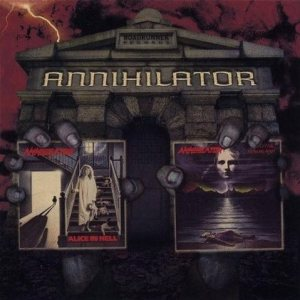 Annihilator - Alice in Hell / Never, Neverland cover art