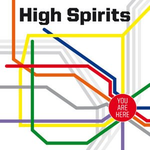 High Spirits - You Are Here cover art