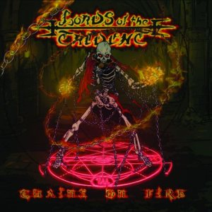Lords of the Trident - Chains on Fire cover art