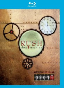 Rush - Time Machine 2011: Live in Cleveland cover art