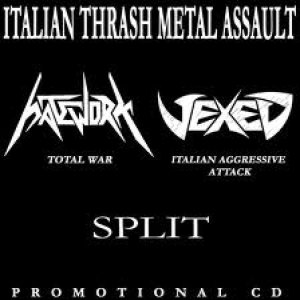 Hatework - Italian Thrash Metal Assault cover art