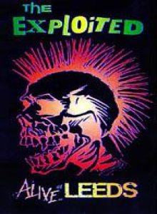 The Exploited - Alive at Leeds cover art