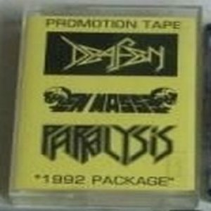 Paralysis - 1992 Package cover art
