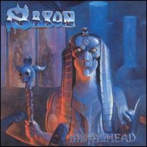 Saxon - Metalhead cover art