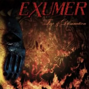 Exumer - Fire & Damnation cover art
