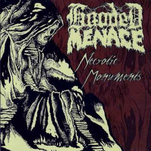 Hooded Menace - Necrotic Monuments cover art