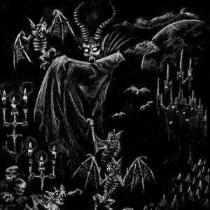 Satanic Warmaster - In Eternal Fire / Ghost Wolves cover art