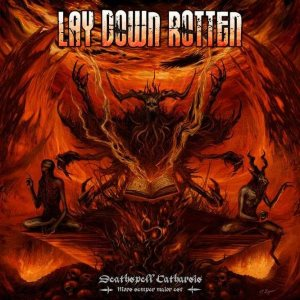 Lay Down Rotten - Deathspell Catharsis cover art
