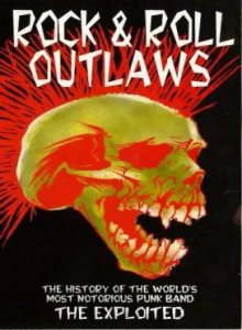 The Exploited - Rock & Roll Outlaws cover art