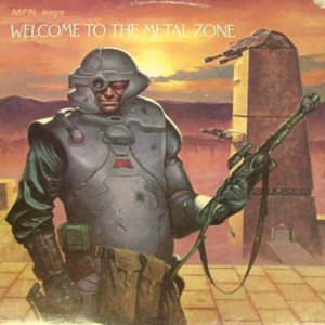 Various Artists - Welcome to the Metal Zone cover art