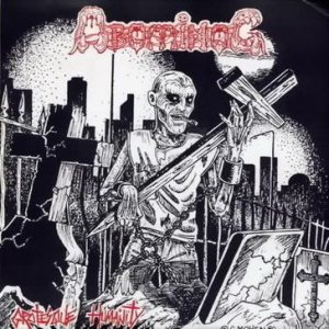 Abominog - Grotesque Humanity cover art