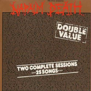 Napalm Death - The Peel Sessions cover art