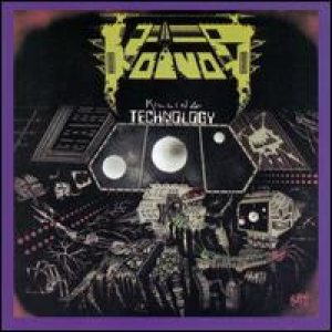 Voivod - Killing Technology cover art