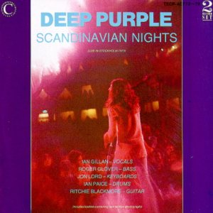 Deep Purple - Scandinavian Nights cover art