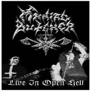 Maniac Butcher - Live in Open Hell cover art