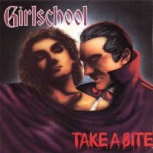 Girlschool - Take a Bite cover art