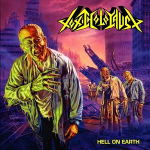 Toxic Holocaust - Hell on Earth cover art