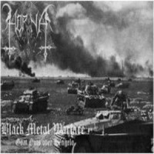 Horna - Black Metal Warfare cover art