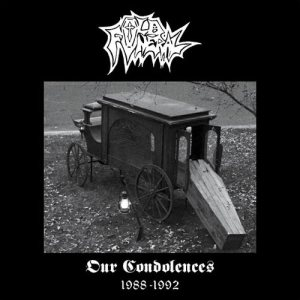Old Funeral - Our Condolences (1988 - 1992) cover art