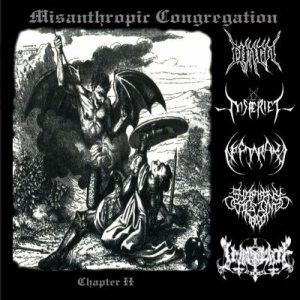 Neftaraka - Misanthropic Congregation Chapter II cover art