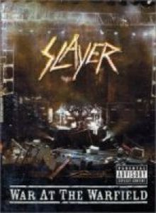 Slayer - War At the Warfield cover art