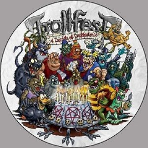 Trollfest - A Decade of Drekkadence cover art