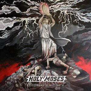 Holy Moses - Redefined Mayhem cover art