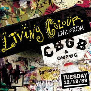 Living Colour - Live from CBGB's cover art