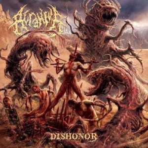 Acranius - Dishonor cover art