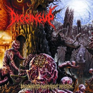Digging Up - Disseminated Inapparent Infection cover art