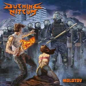 Burning Nitrum - Molotov cover art