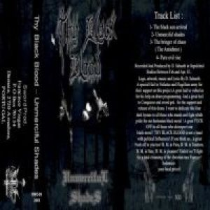 Thy Black Blood - Unmerciful Shades cover art
