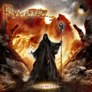 Pyramaze - Immortal cover art