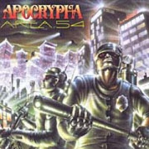 Apocrypha - Area 54 cover art