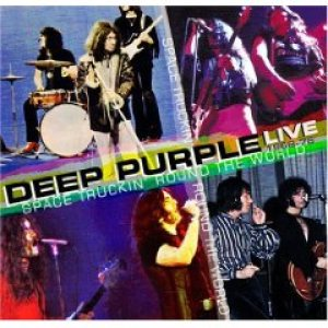 Deep Purple - Space Truckin Round the World Live cover art