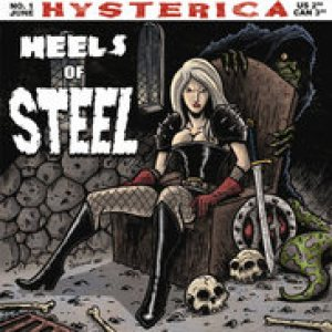 Hysterica - Heels of Steel cover art